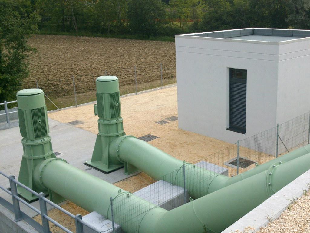 Impianti idrovori a Vallenoncello