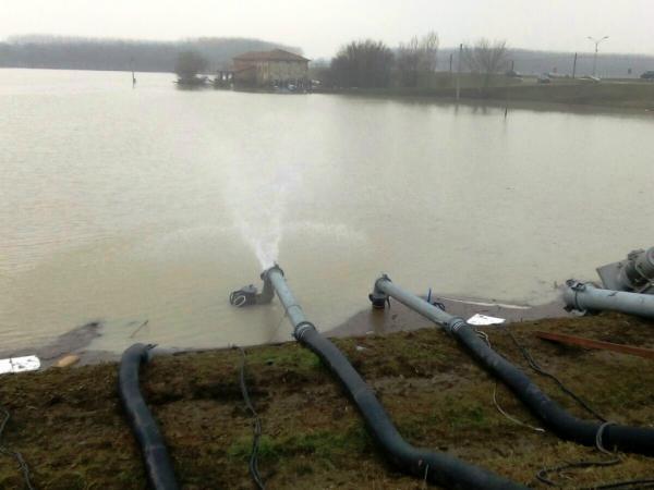 Esondazione del fiume Enza