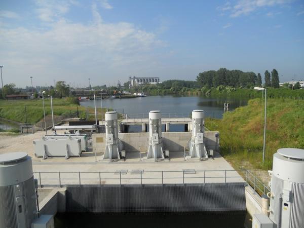Impianto idrovoro/irriguo Pontelagoscuro
