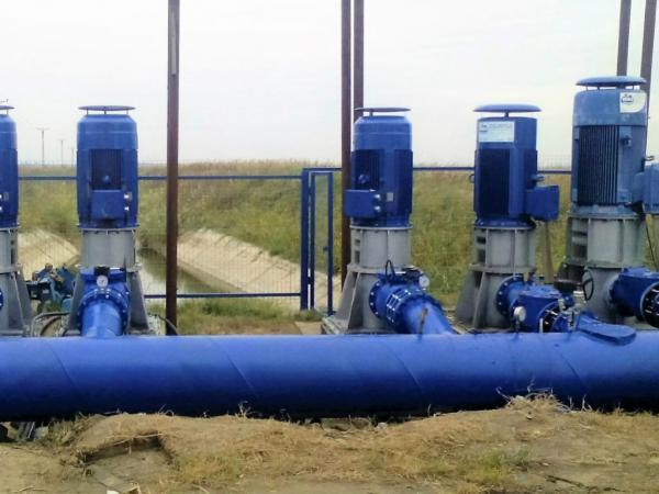 Impianto di pompaggio Racovita, Romania