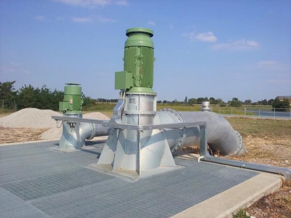 Impianto idrovoro Pascoletti