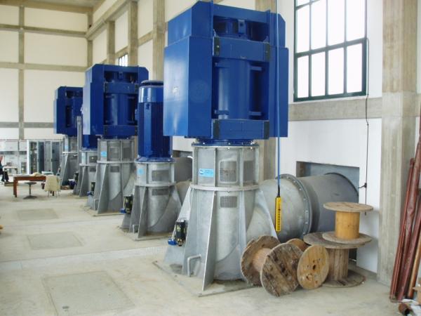 Impianto idrovoro Vidara Nord
