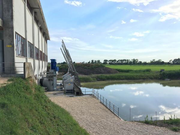 Impianto idrovoro Valle Tagli