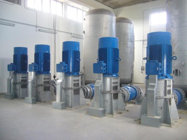 Impianto di pompaggio Sollevamento dal CER