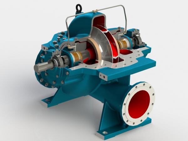 Pompe centrifughe a cassa divisa CRD
