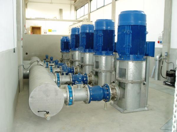 Impianto di pompaggio S. Silvestro