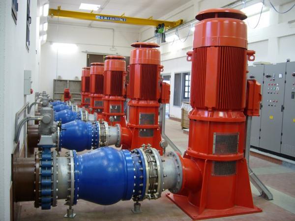 Impianto di pompaggio Tubone