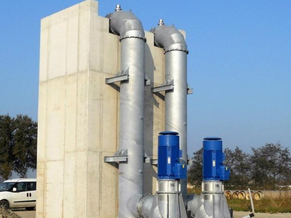 Impianto di pompaggio Pieve S. Giacomo