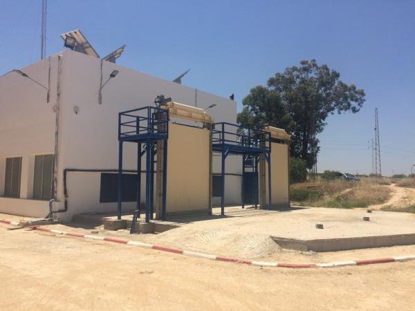 Ghedir El Golla Tunisia - Test significativo presso l'impianto