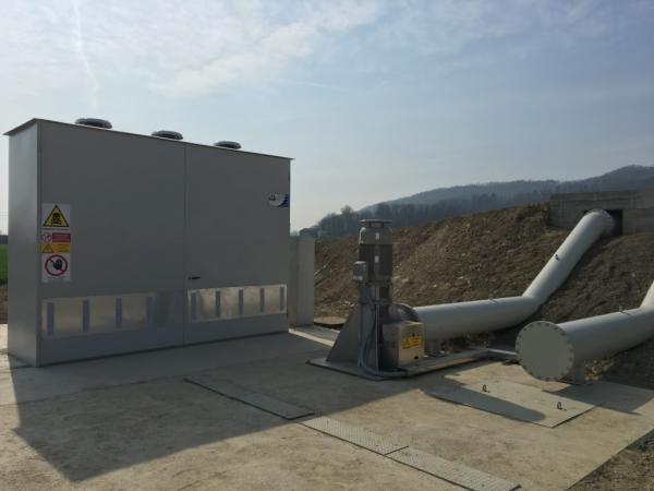 Impianto idrovoro Montegrotto Terme