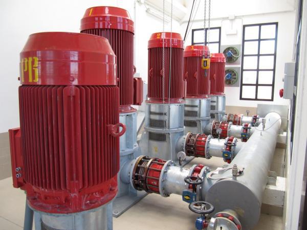 Impianto di pompaggio Morella