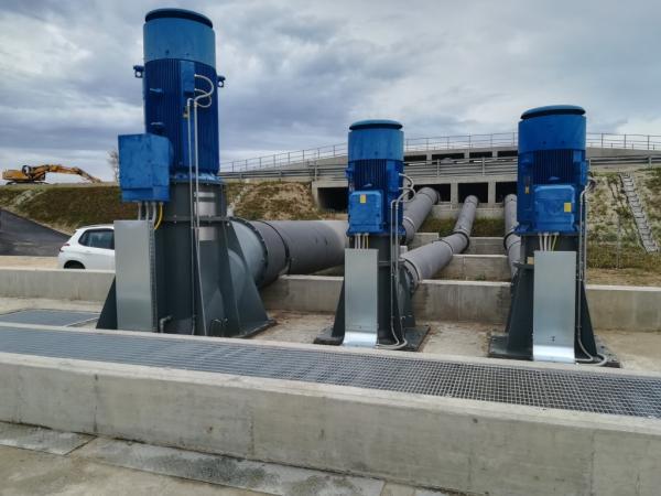 Impianto idrovoro Altipiano