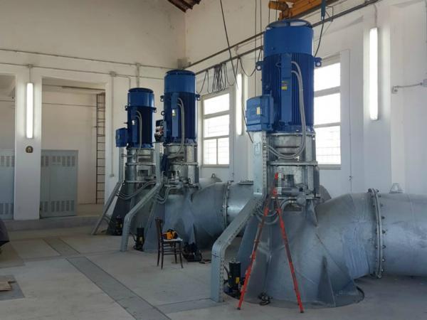 Impianto di pompaggio Castel di Guido