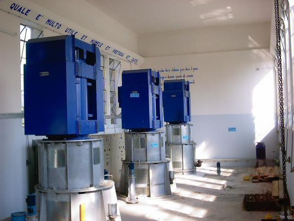 Impianto di pompaggio Albano