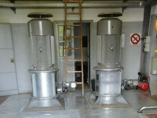 Impianto idrovoro Isola Sacra
