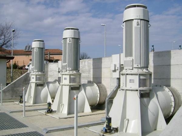 Impianto idrovoro S. Antonino