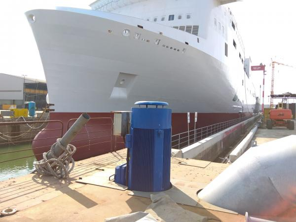 Bacino carenaggio cantiere navale Visentini