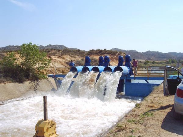 Impianti di irrigazione in Spagna