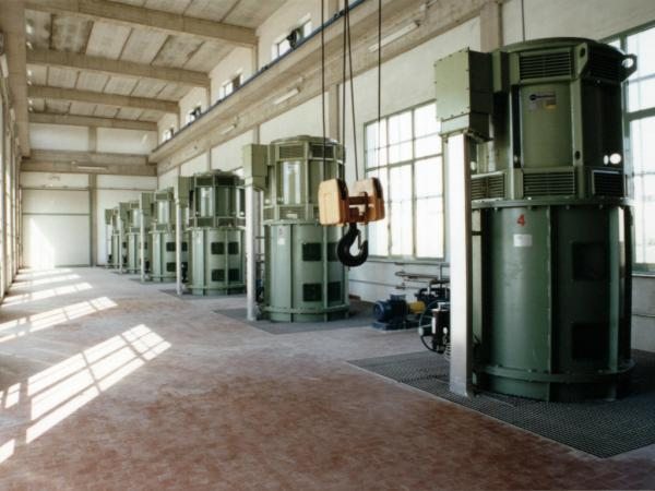 Impianto idrovoro Bresparola